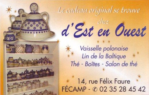 Publicité parue en décembre 2011 dans le Paris-Normandie